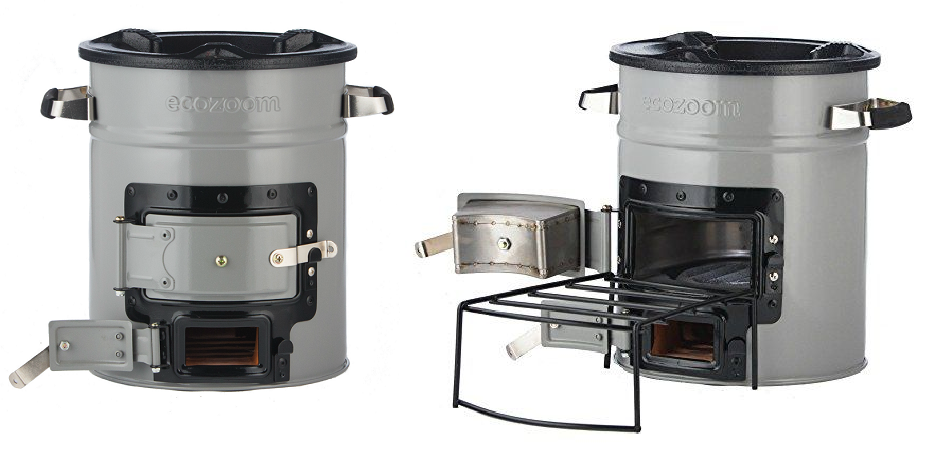 outdoor camp wood stove
