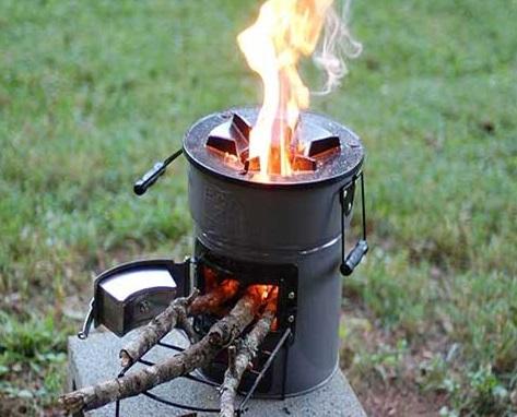 réchaud de camping ecozoom